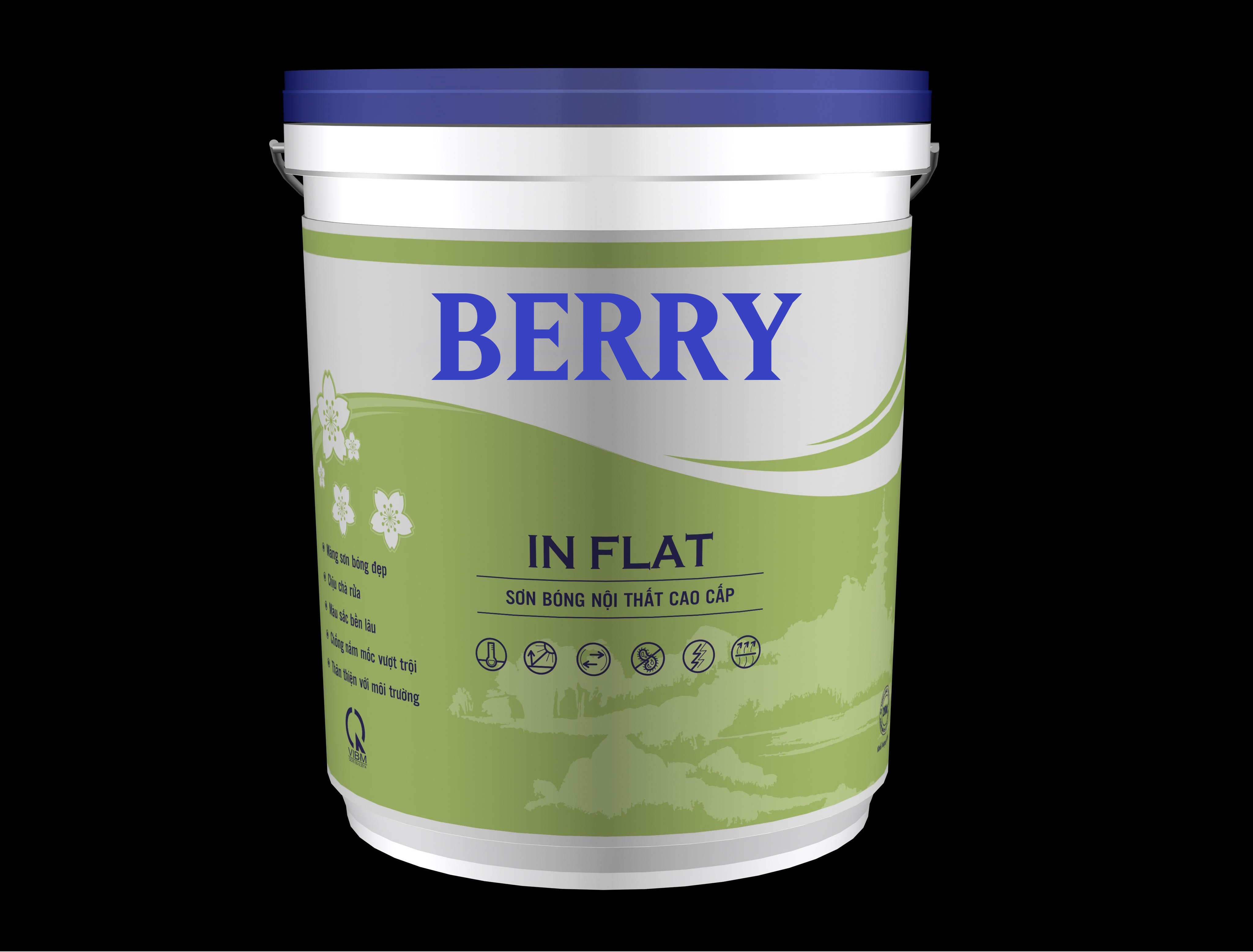 Sơn Berry In Flat